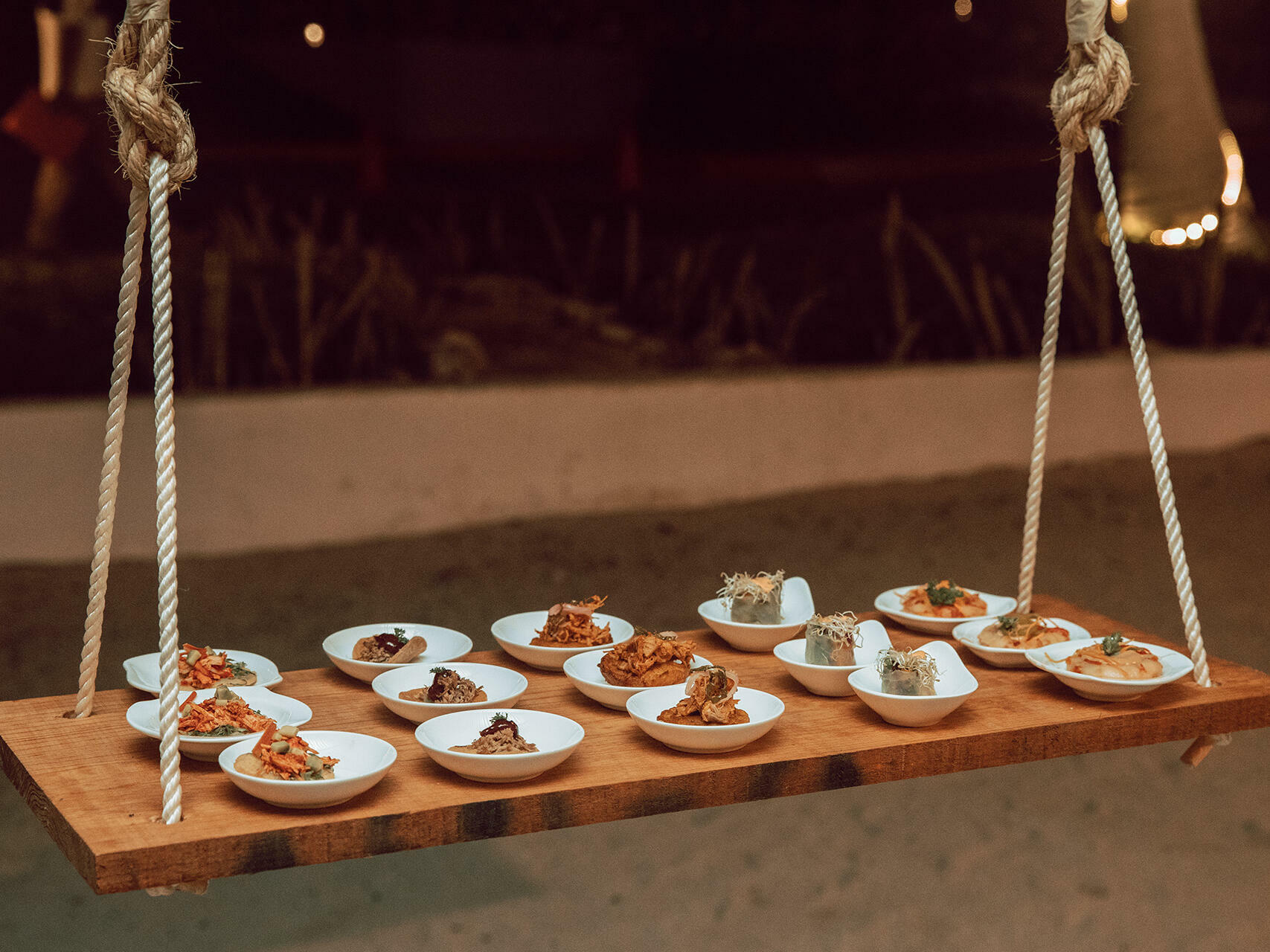 Dining options in restaurant at La Coleccion Resorts