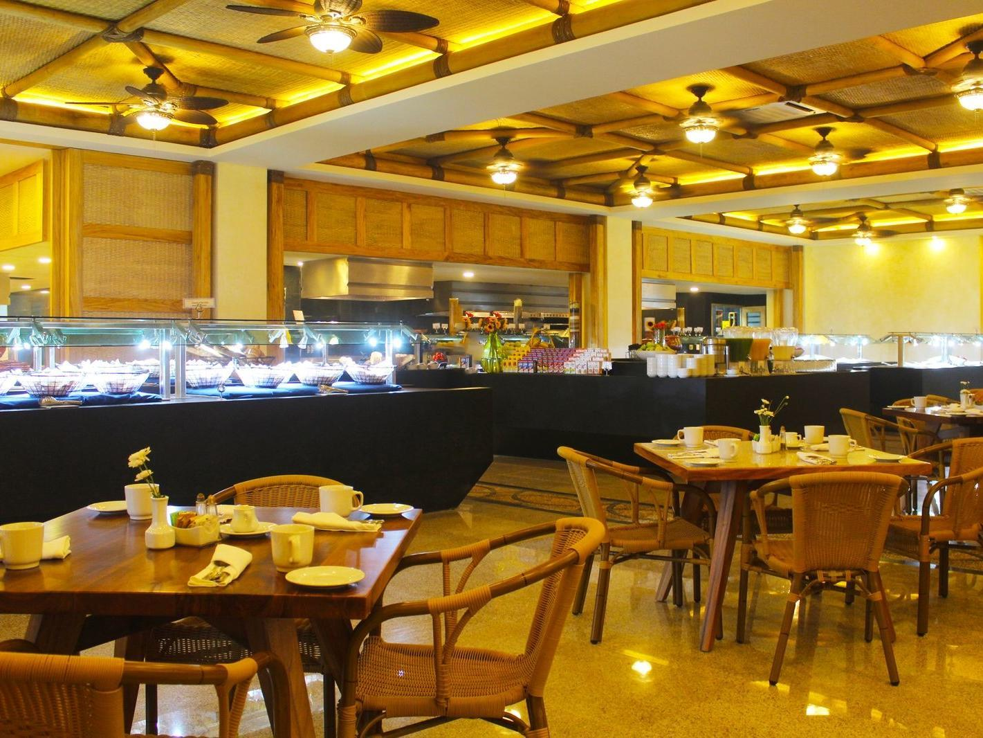 dining tables near buffet