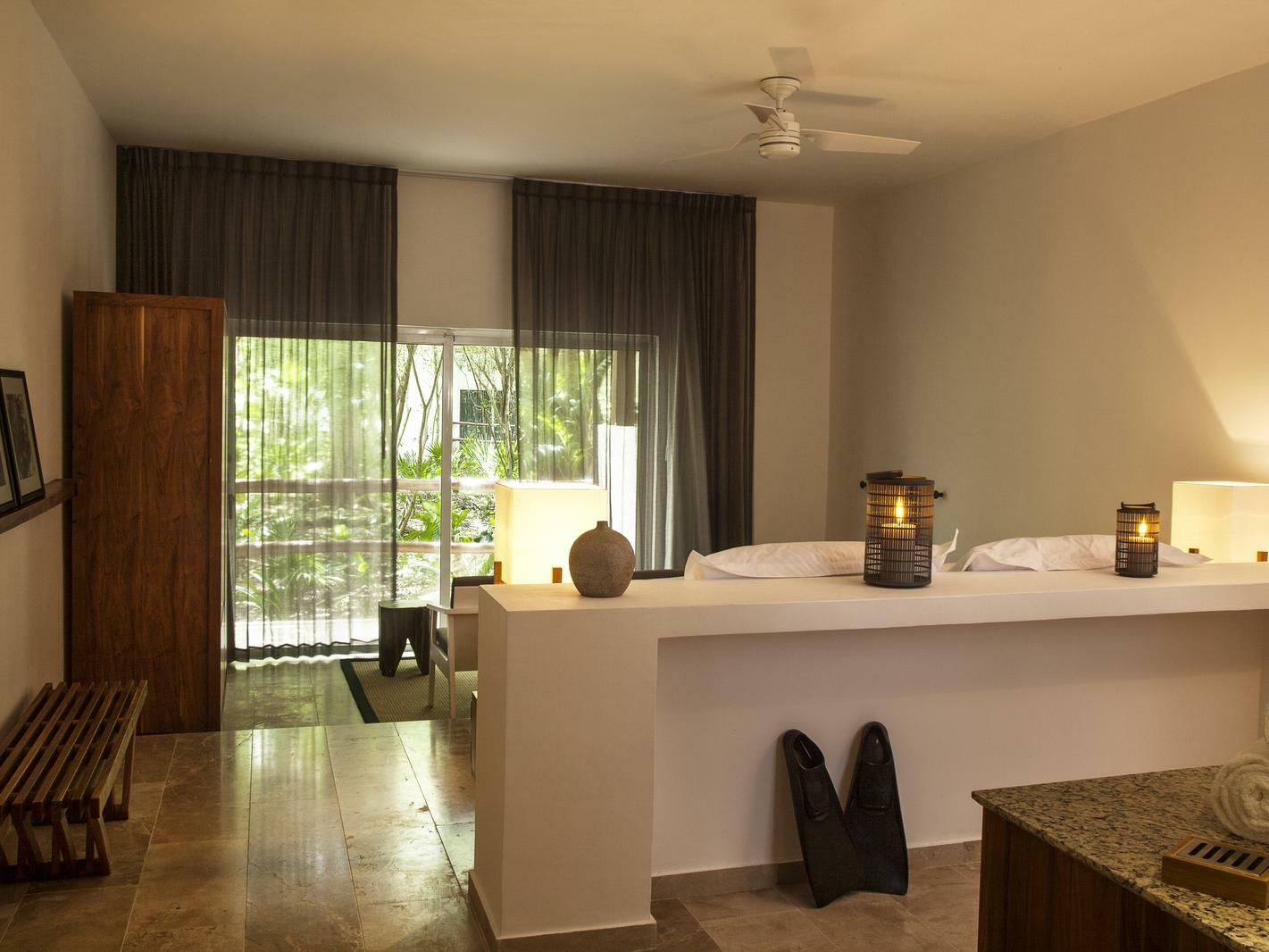 Casita Stand alone 1 king at Hotel the Explorean Cozumel