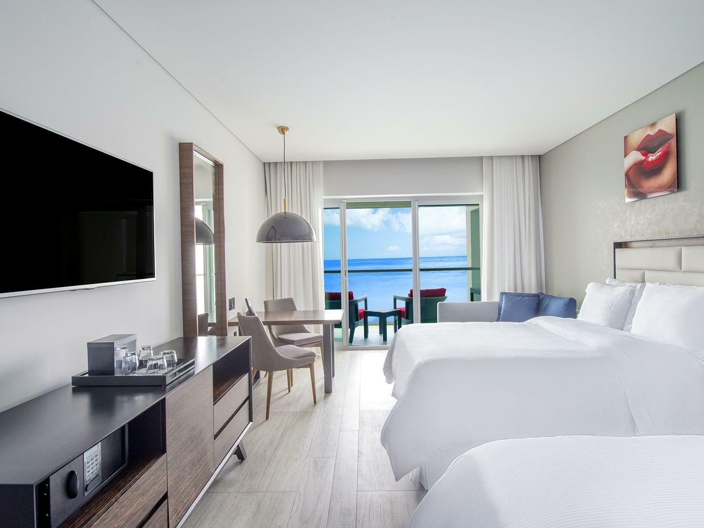 Ocean front party junior suite at Grand Fiesta Americana Puerto Vallarta All Inclusive Adults Only