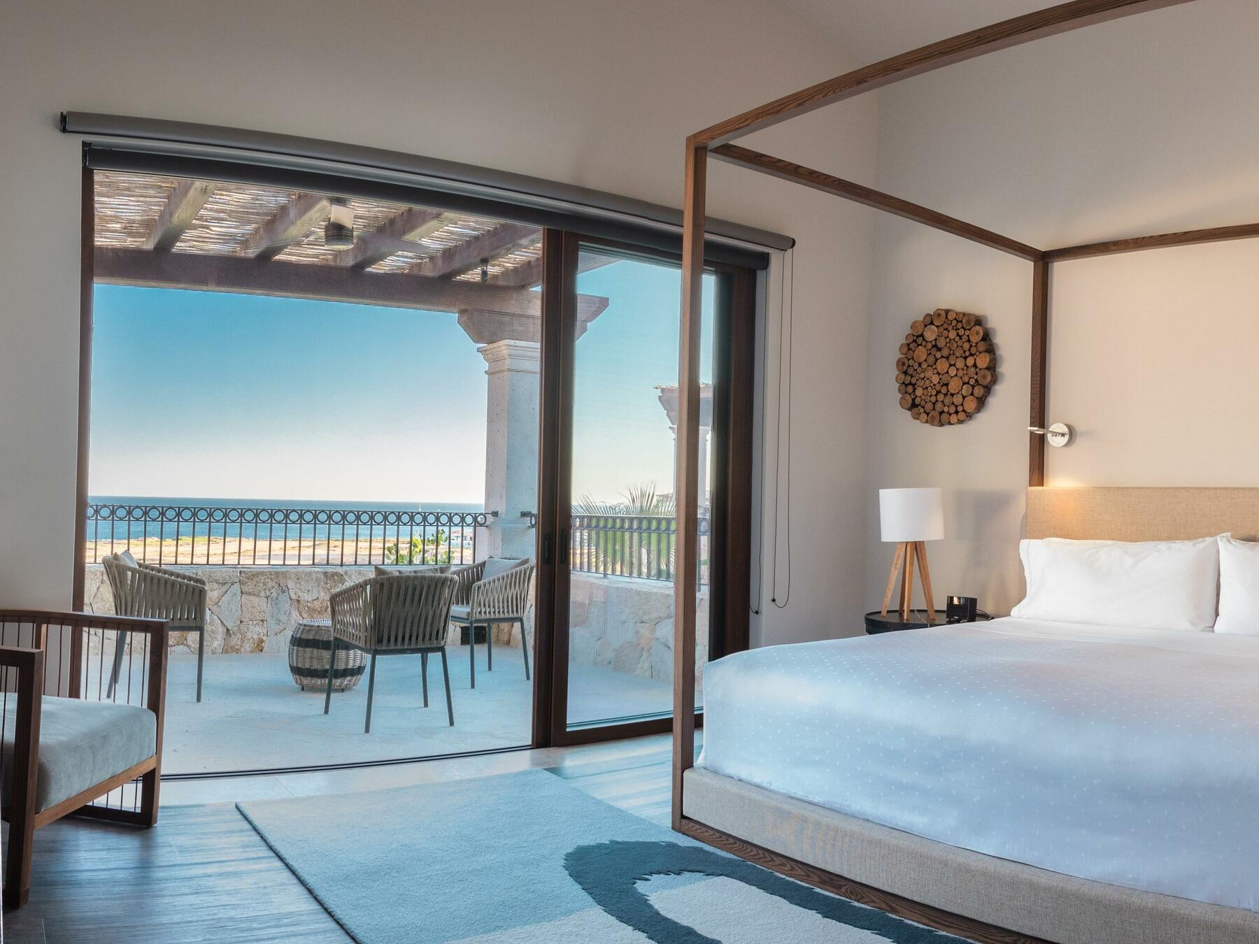 King room with view of ocean