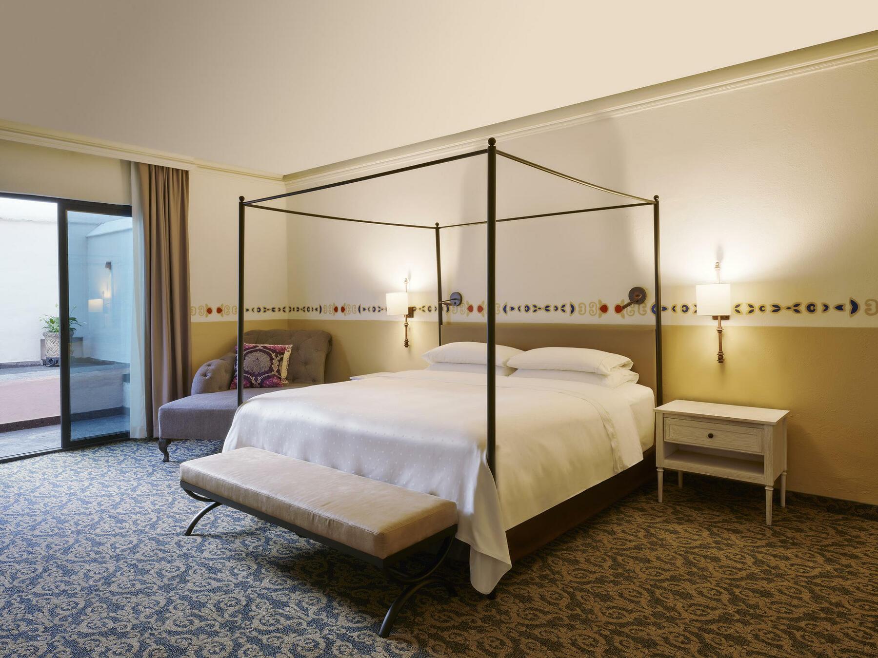 Junior Suite King at FA Hacienda Galindo Resort & Spa