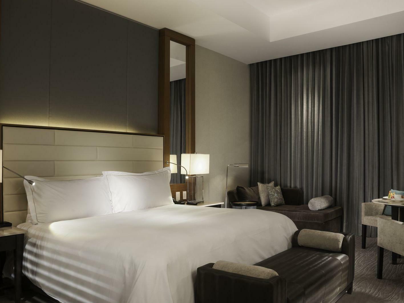 Deluxe room 1 king bed at Live Aqua Urban Resort Mexico