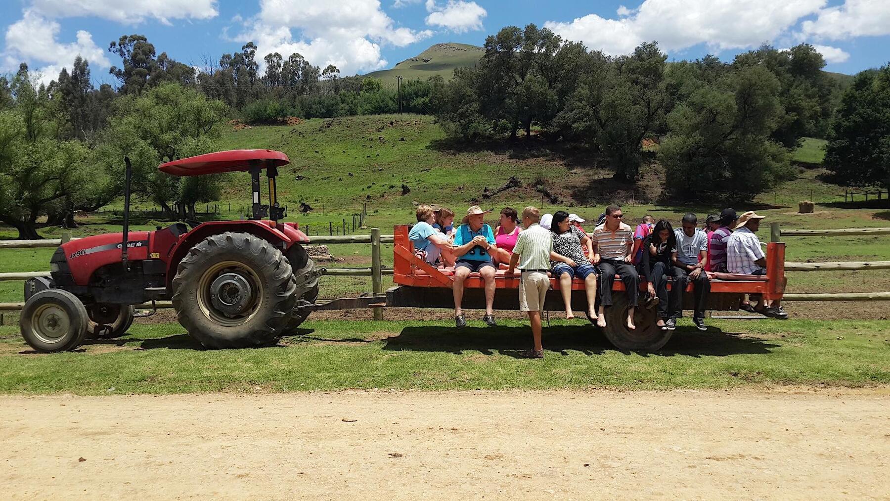 Bushman's Nek Tractor Ride