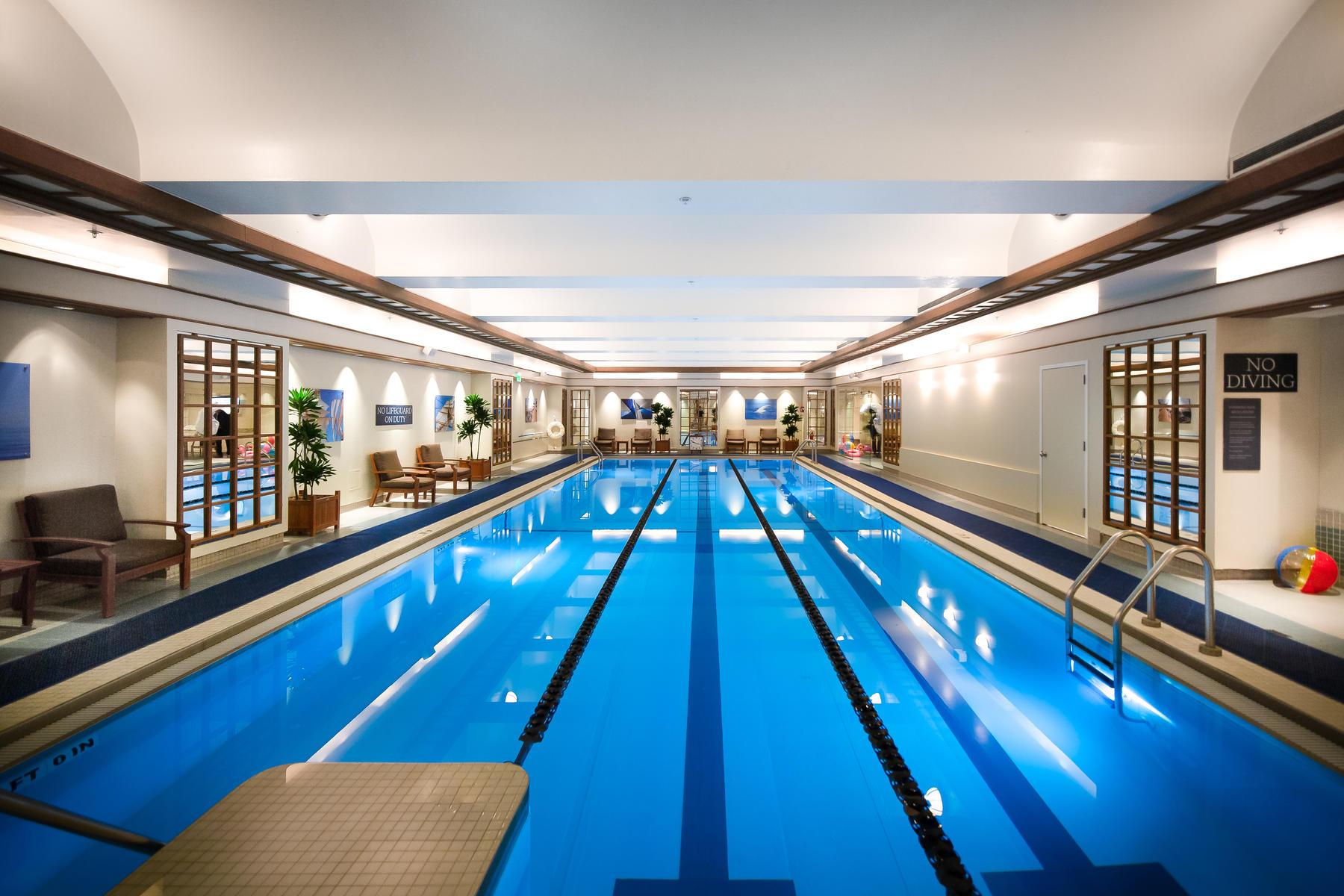 Swimming Pool at Boston Harbor Hotel
