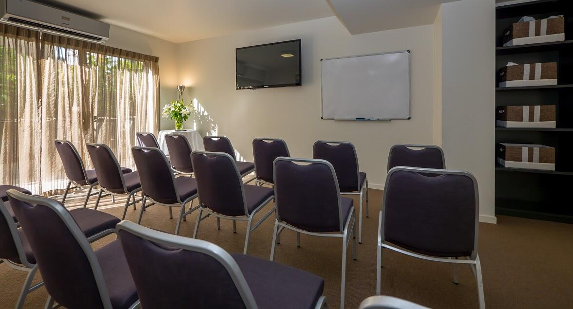 Our conference facilities are ideal for your next board meeting,