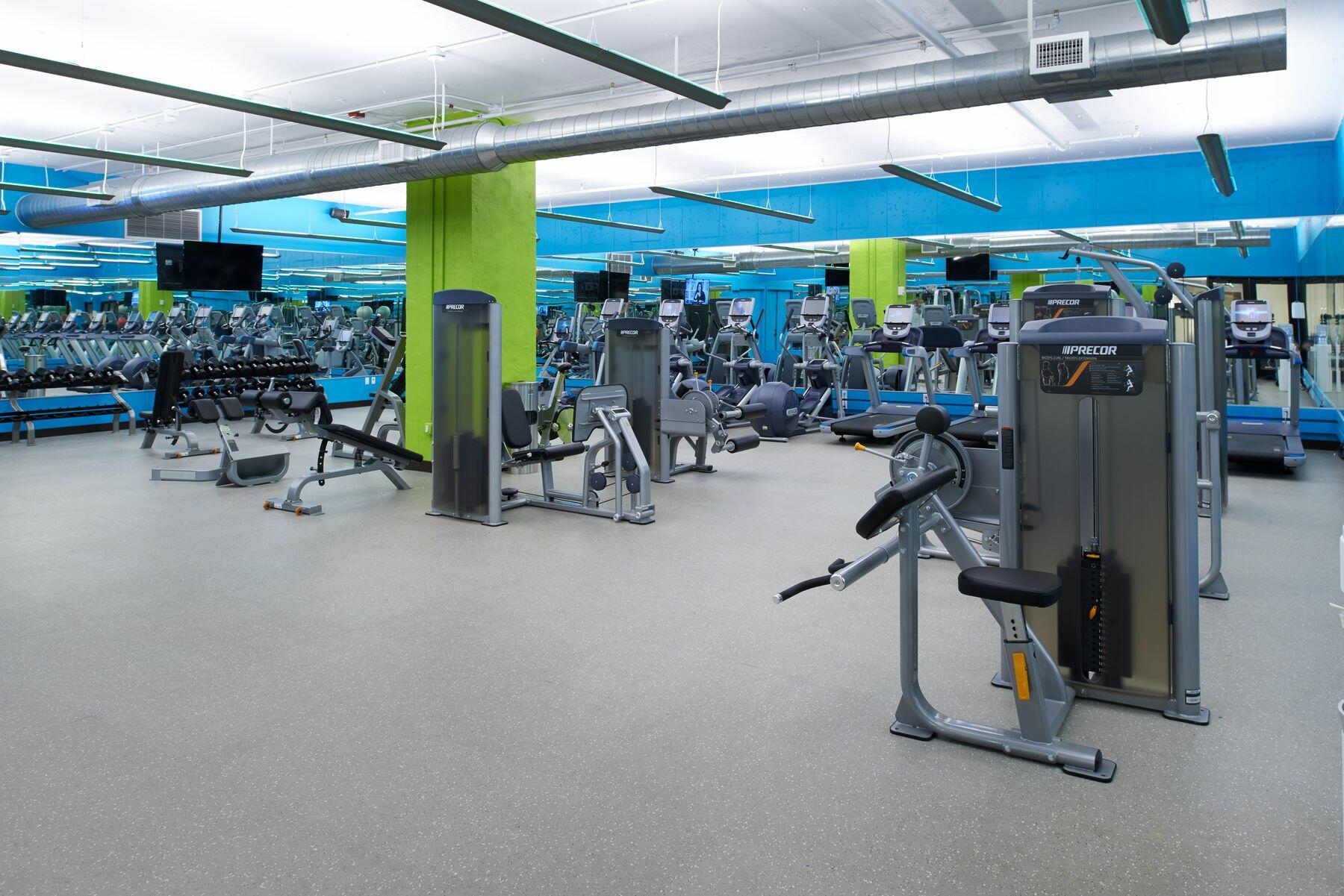 Energy Fitness Studio with state-of-the-art equipment