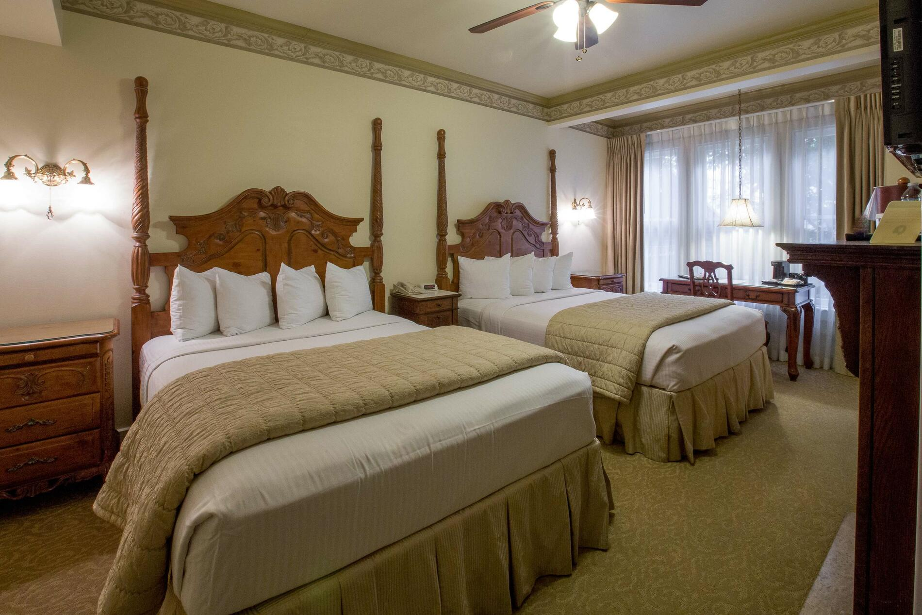 Two guest beds