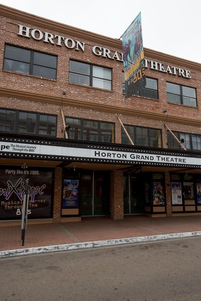 Horton Grand Theatre exterior