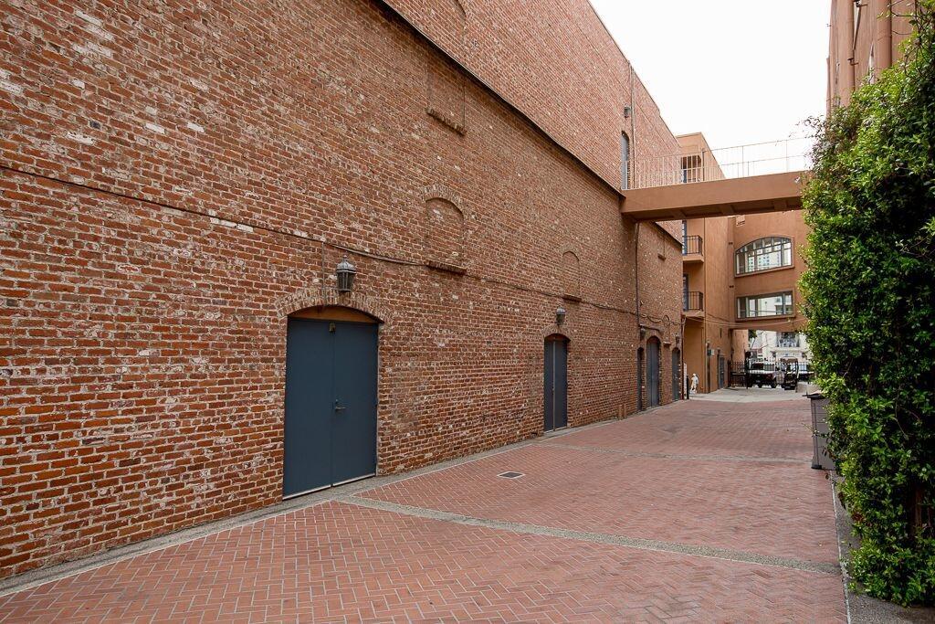 Brick alleyway