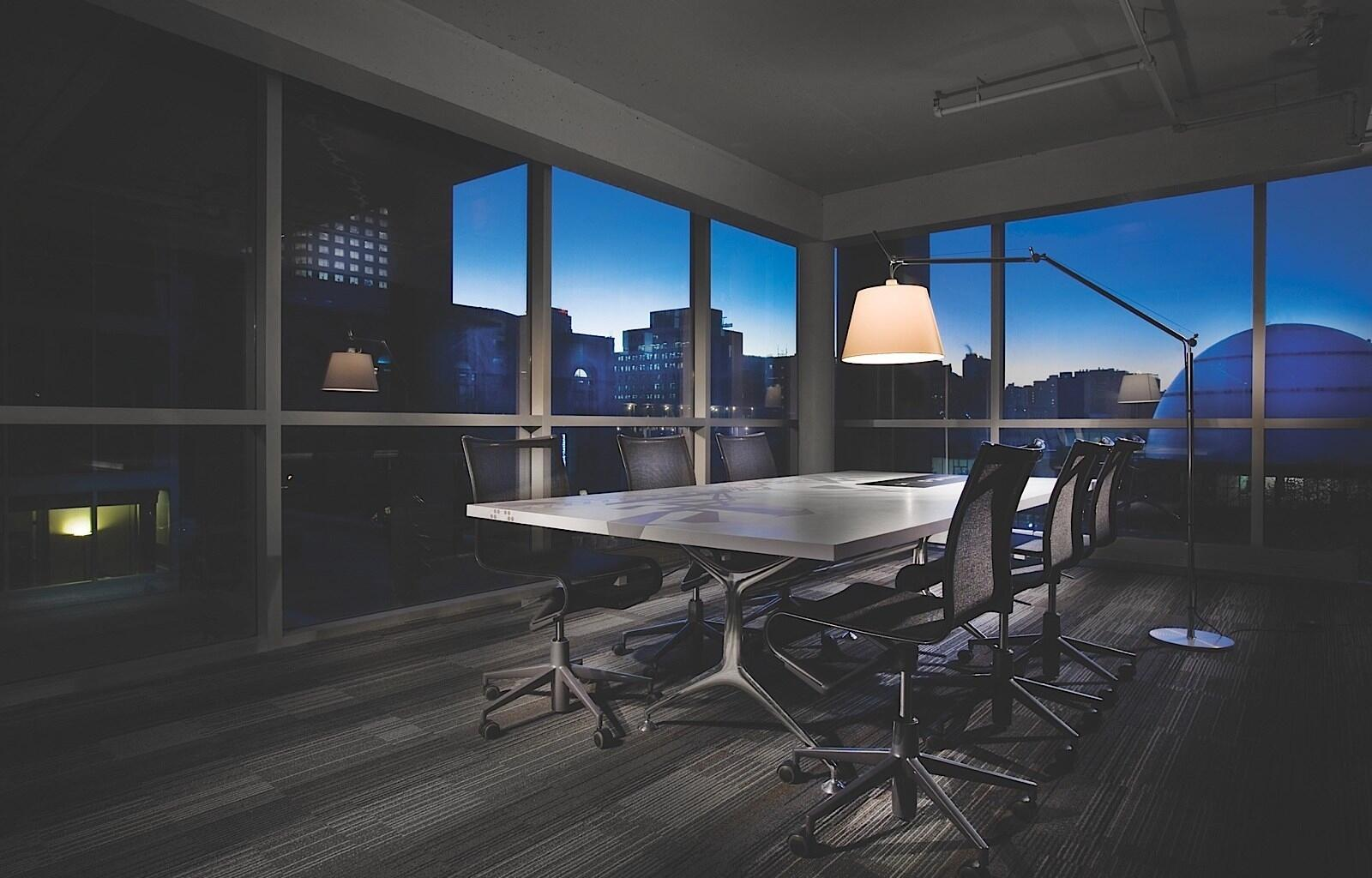 Montreal Meeting Room at Night