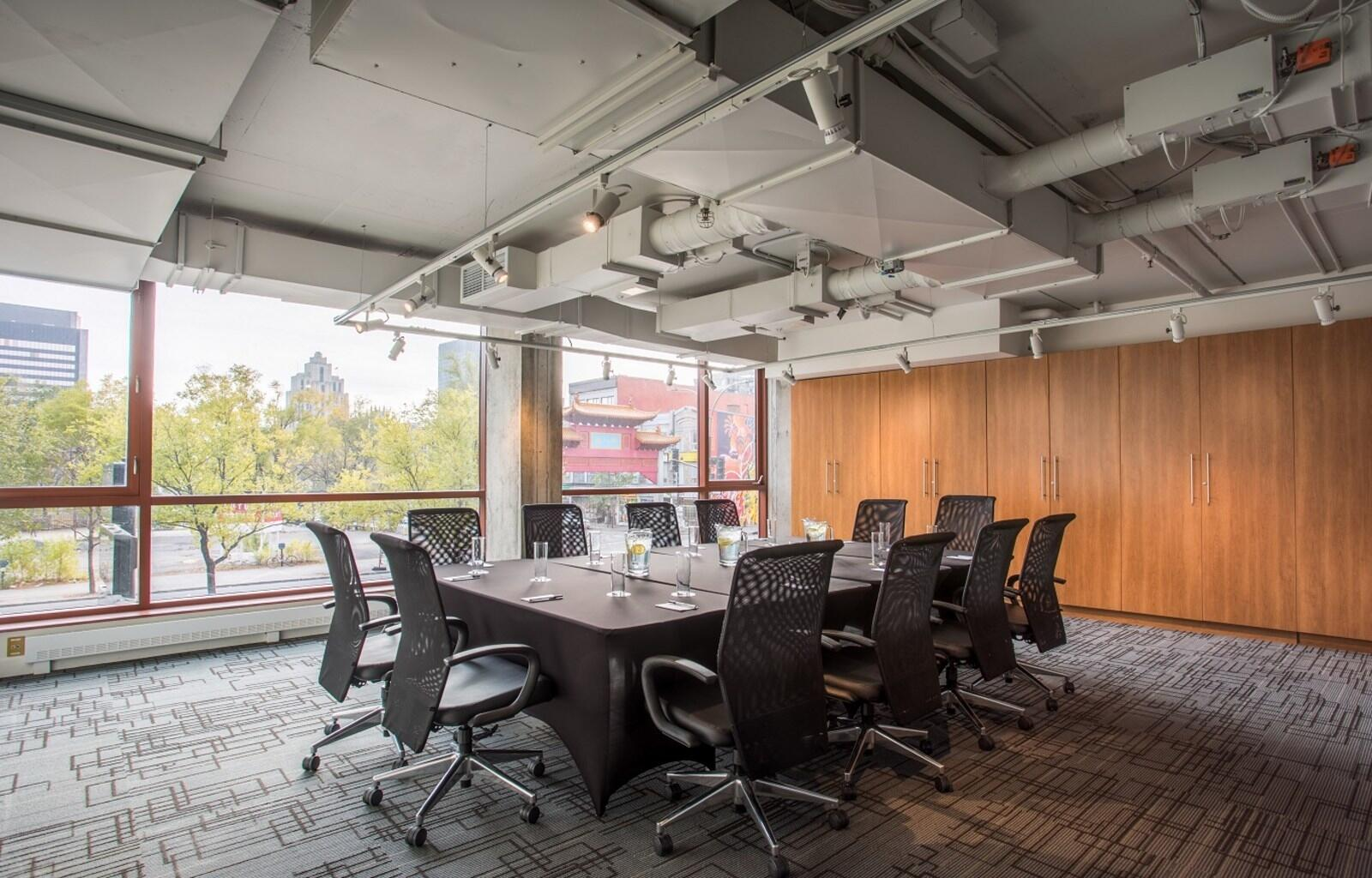 Meeting Room with Downtown Montreal Views