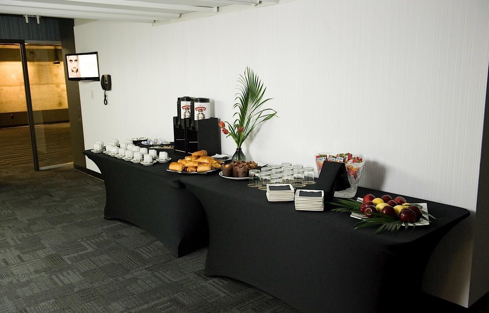 Breakfast Buffet in Meeting Room