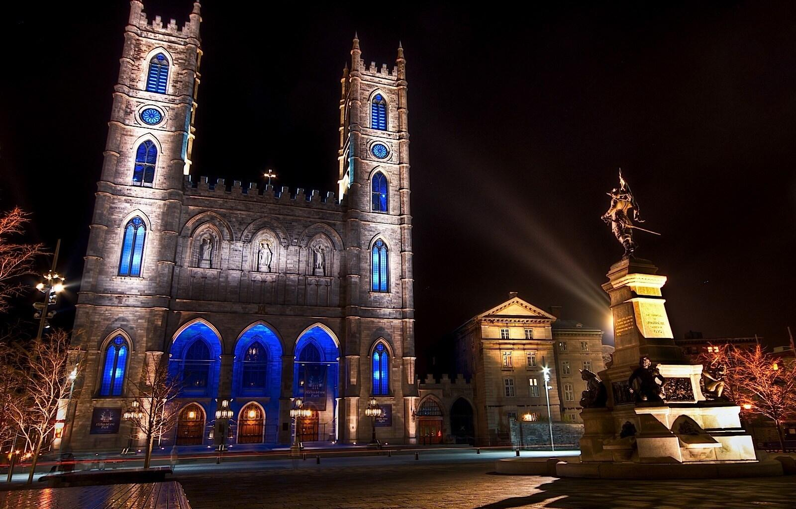 Cathedral in Old Montreal