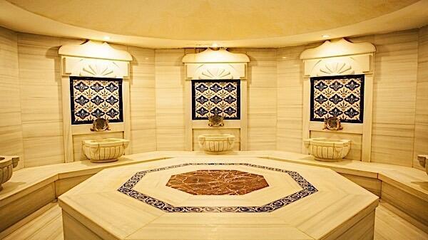 Turkish Bath at Bilek Hotel Istanbul