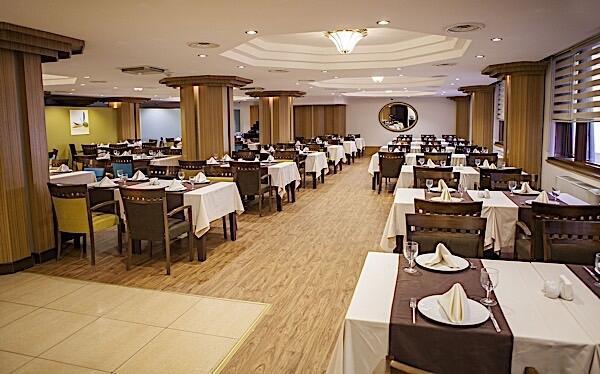 Restaurant at Bilek Hotel Istanbul