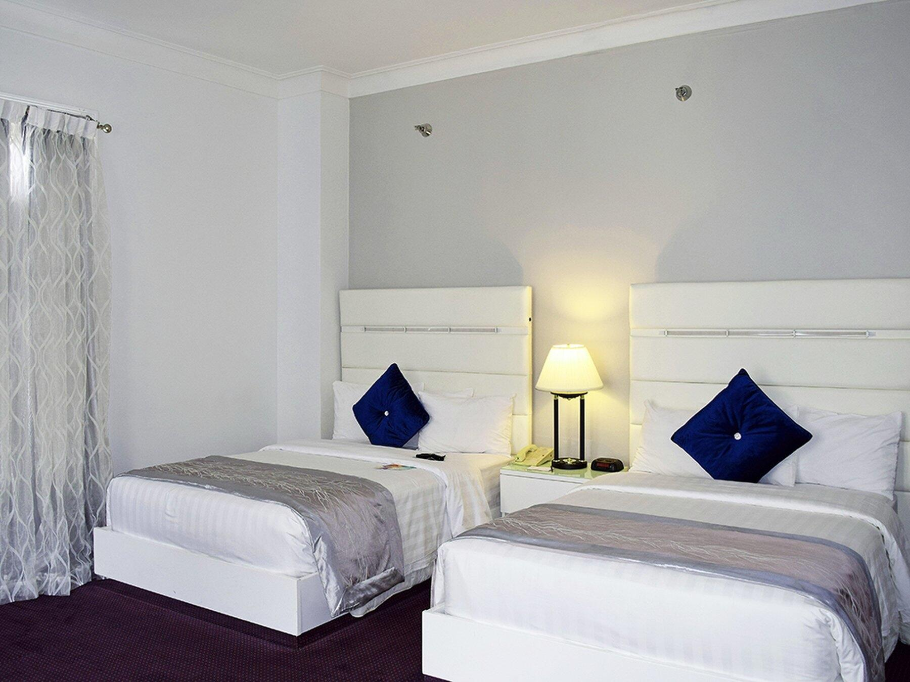 Double Beds in Standard City view Room