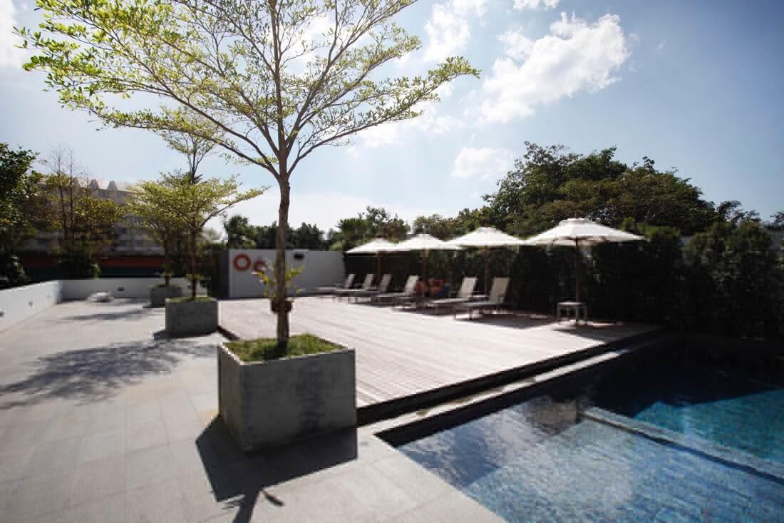 hotel outdoor pool - X2 Vibe Phuket Patong