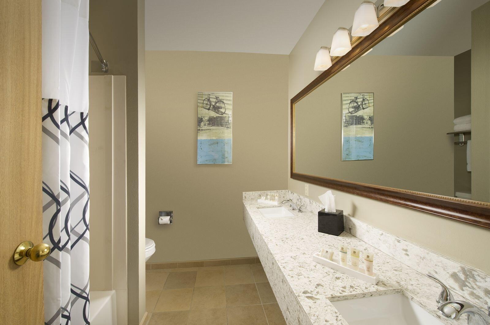 Bathroom in the Superior King room