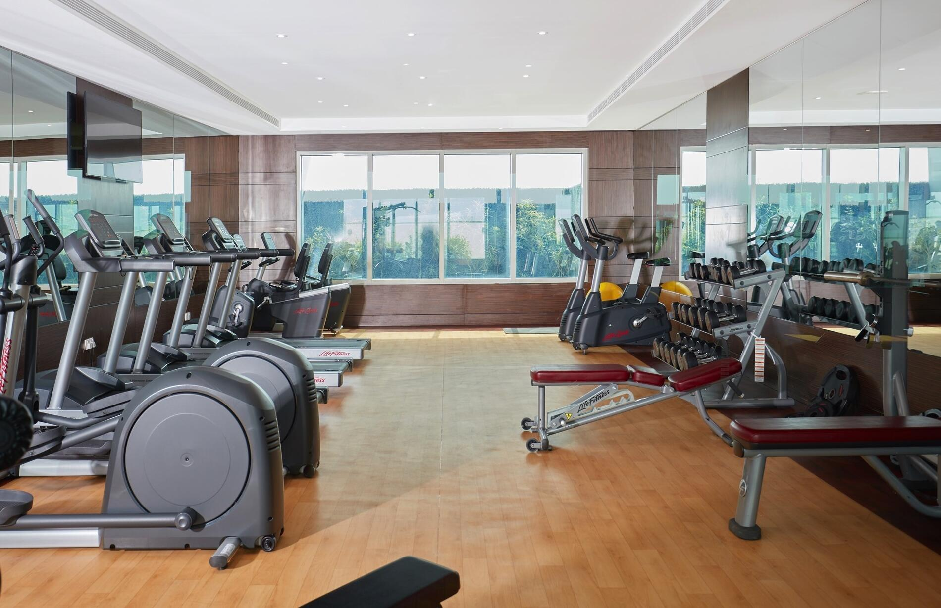 Treppan Hotel and Suites Gym