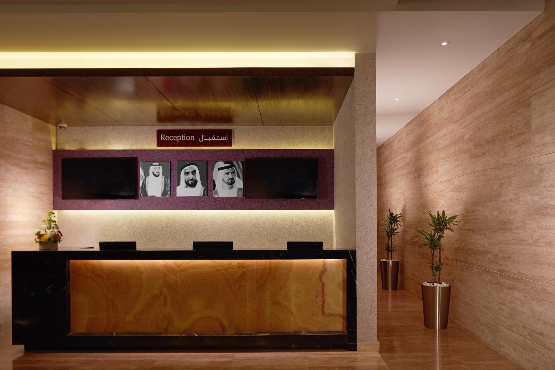Treppan Hotel and Suites Reception