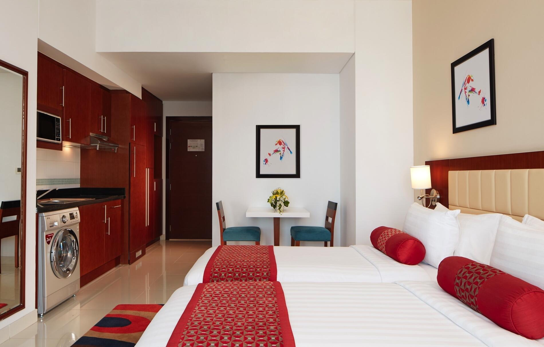 Deluxe Studio at Treppan Hotel and Suites