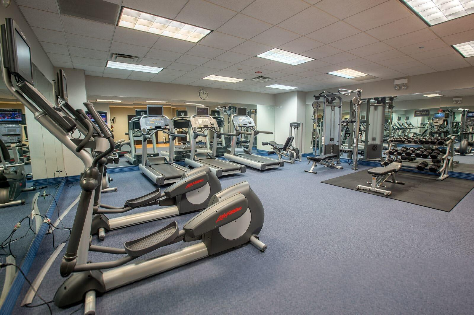 Kinzie Hotel Fitness Center