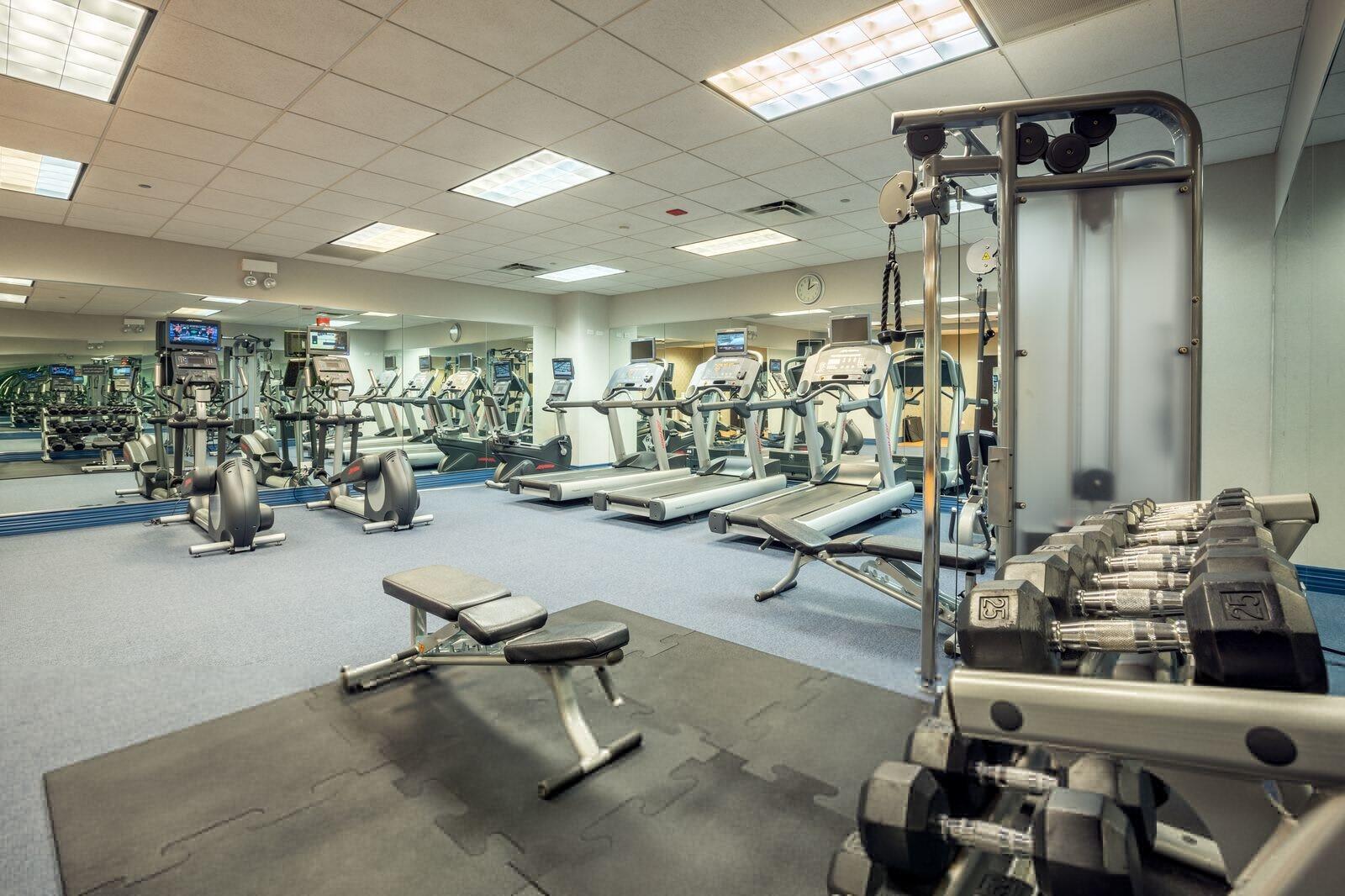 Kinzie Hotel Fitness Room