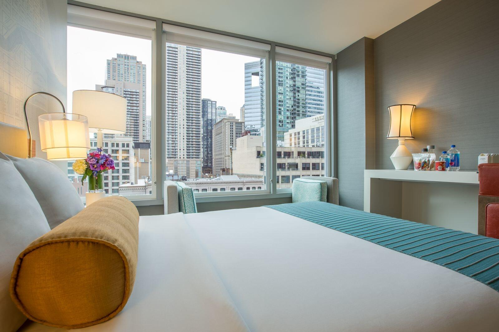King Room with Downtown Chicago View