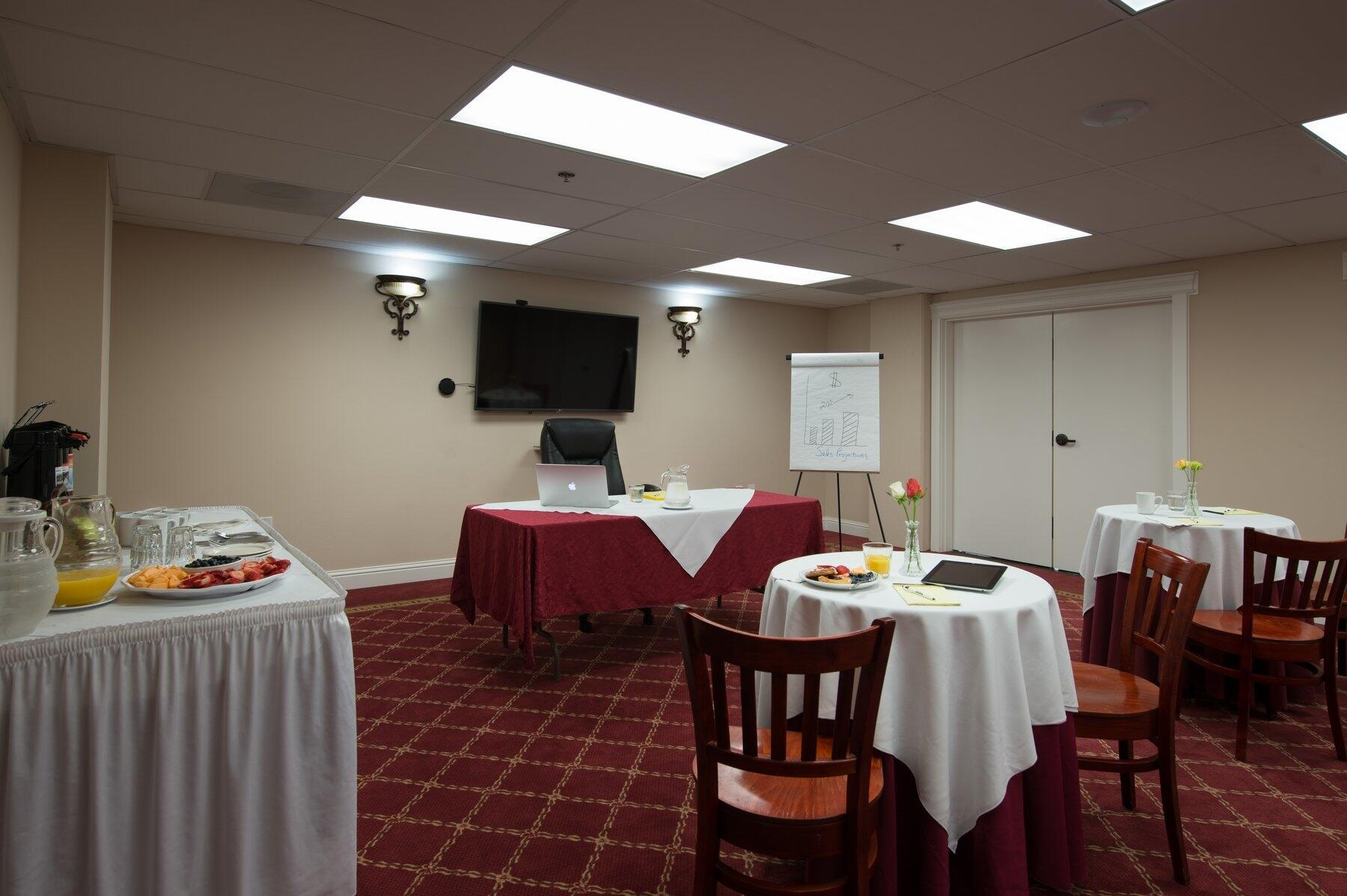 Conference room at The Monterey Hotel