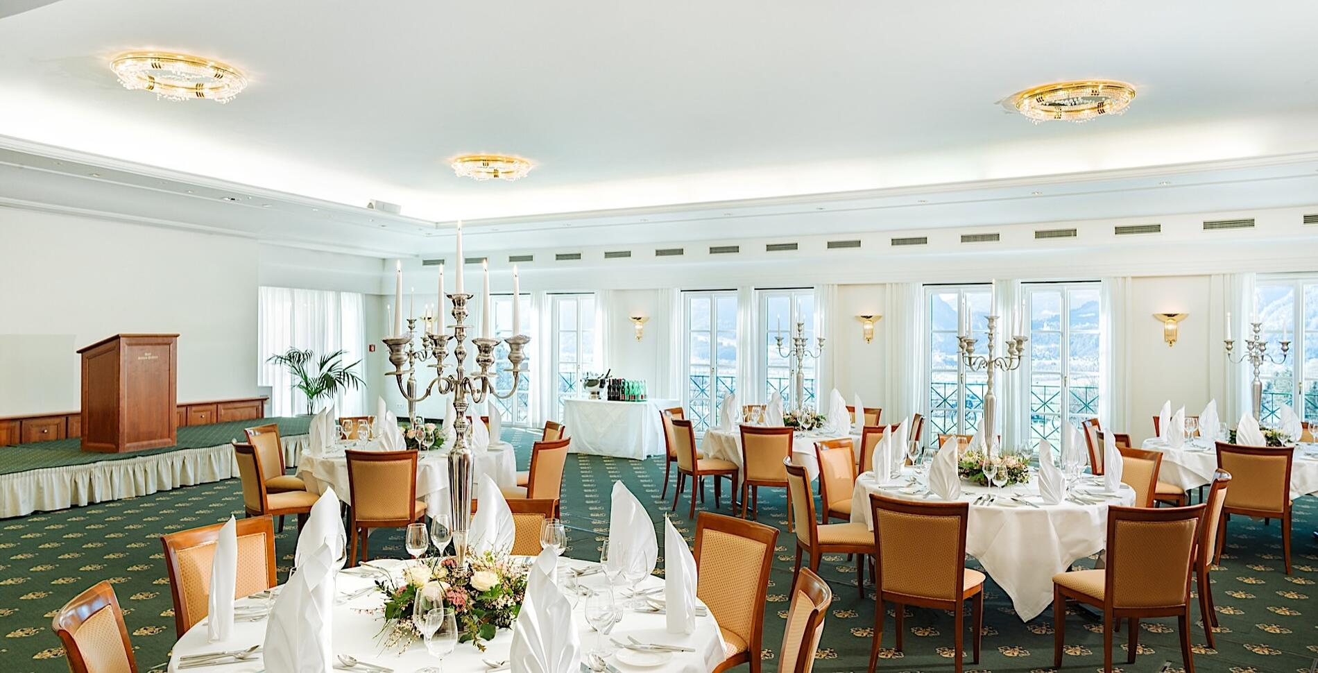 Function Room Grimming I at Romantik Hotel Schloss Pichlarn, Aus