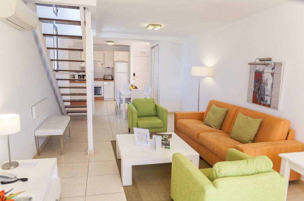 Sunset Bay Club Two Bedroom Family Living Room Refurbished