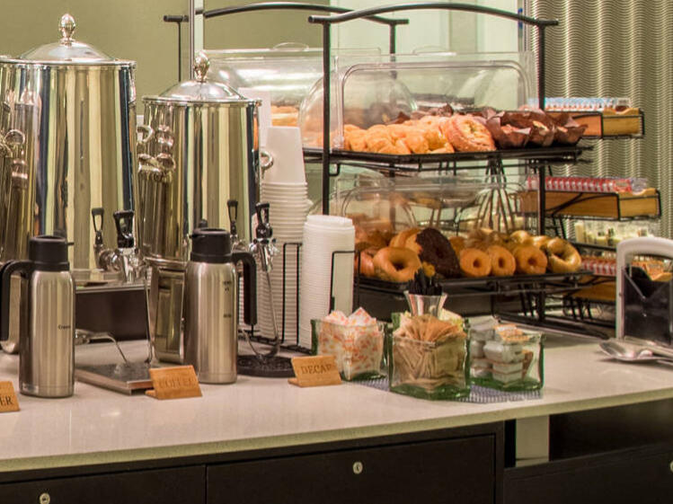 Doughnuts & Coffee for Breakfast at Kinzie