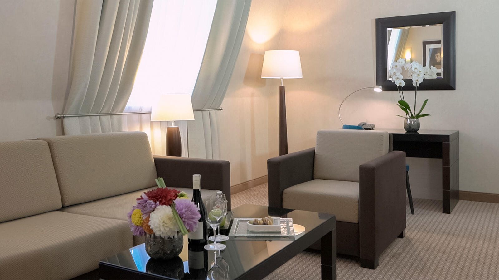 Suite at Polonia Palace Hotel, Warsaw