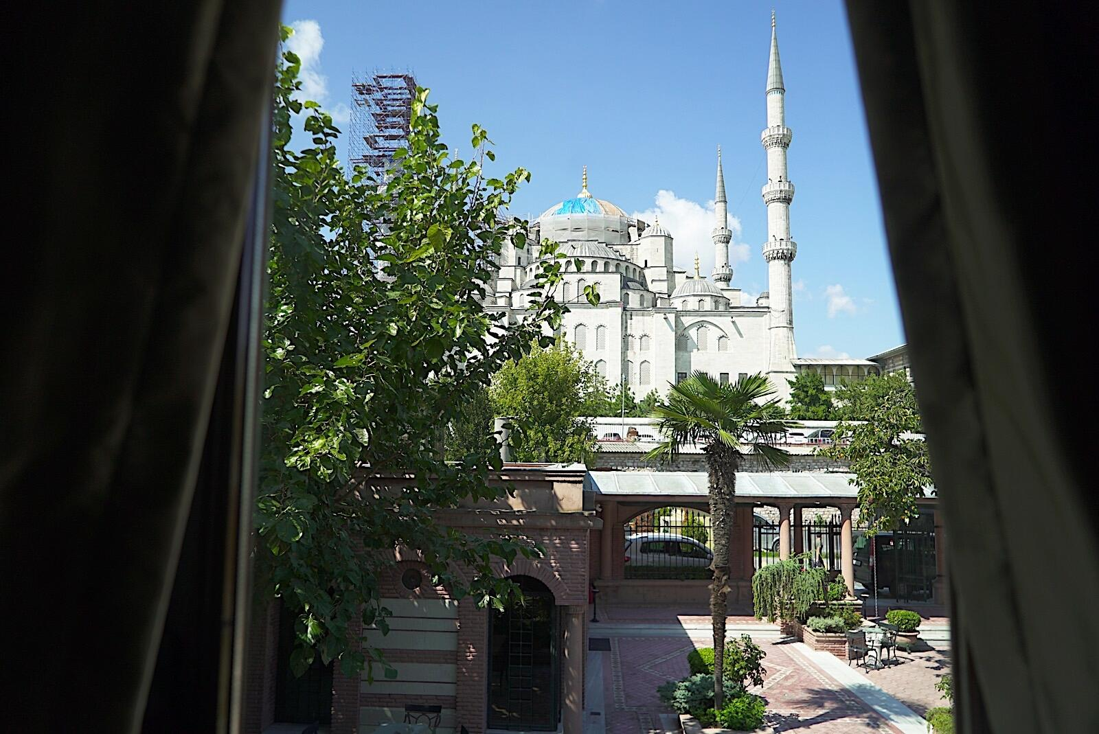 Views from Sultanahmet Palace Hotel in Istanbul