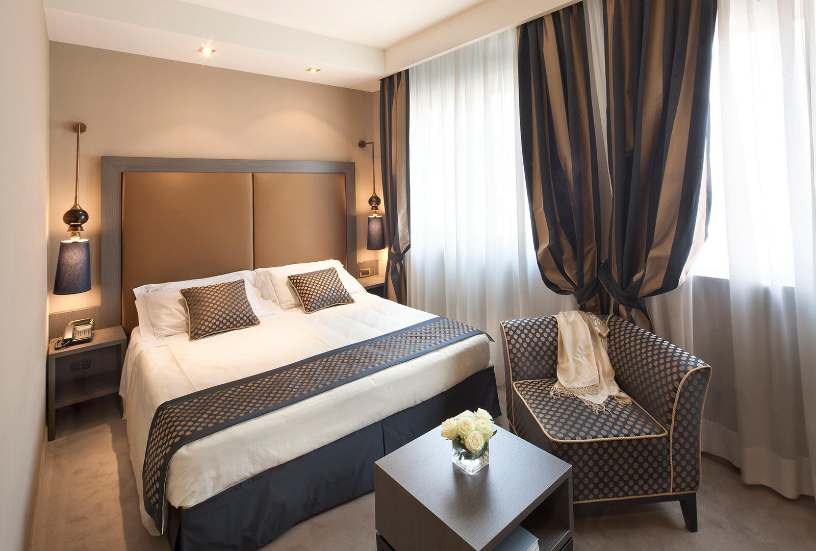 Superior Room at Hotel Mozart in Milan
