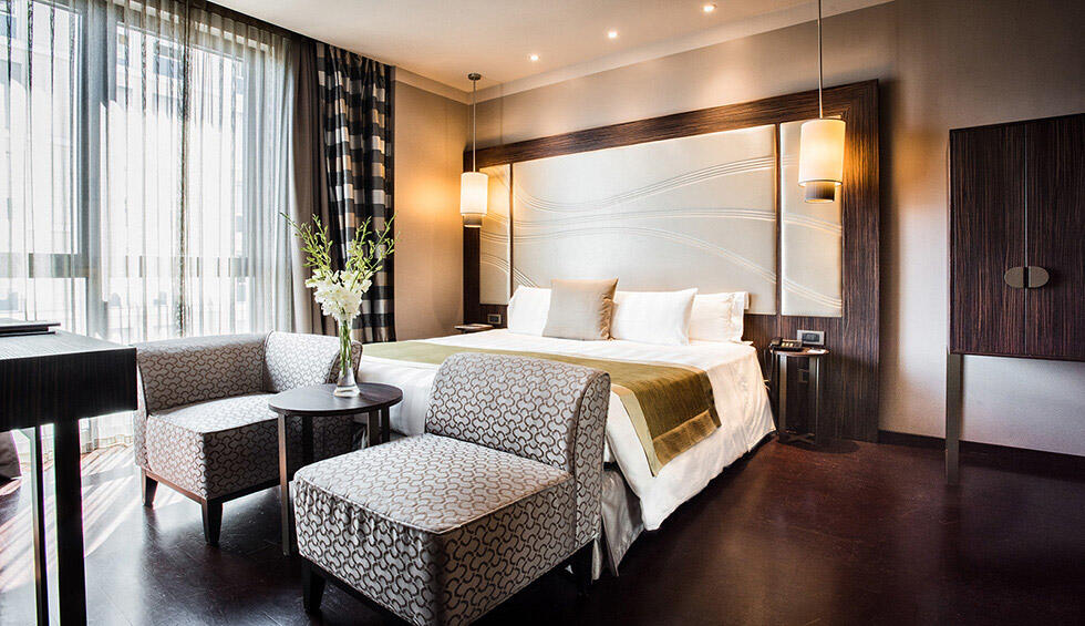 Deluxe Room at Uptown Palace in Milan