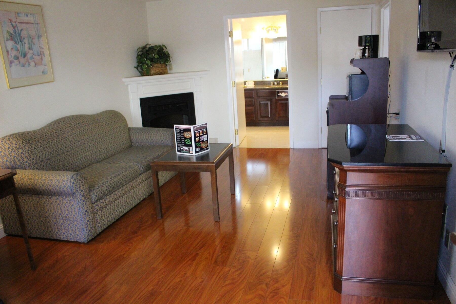 Sitting area in Suites