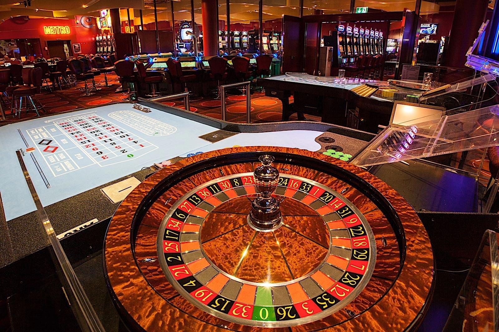 Casino Roulette at Airport Hotel Basel