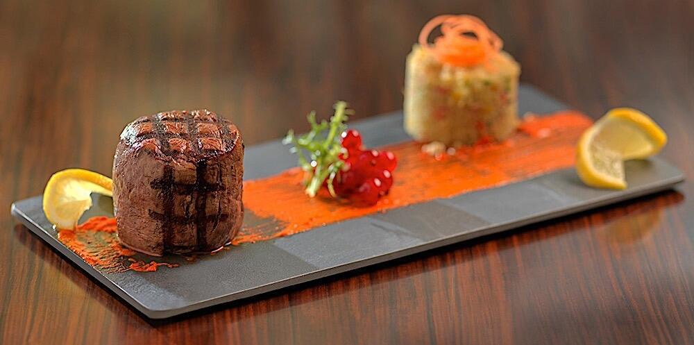 Steak Meat Two Seasons Hotel