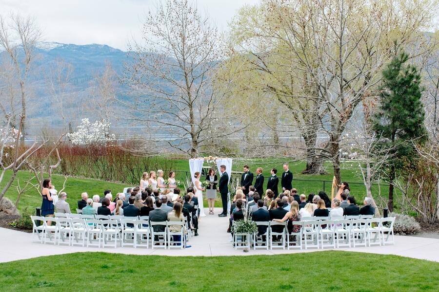 Earth Day Quails Gate Winery Wedding