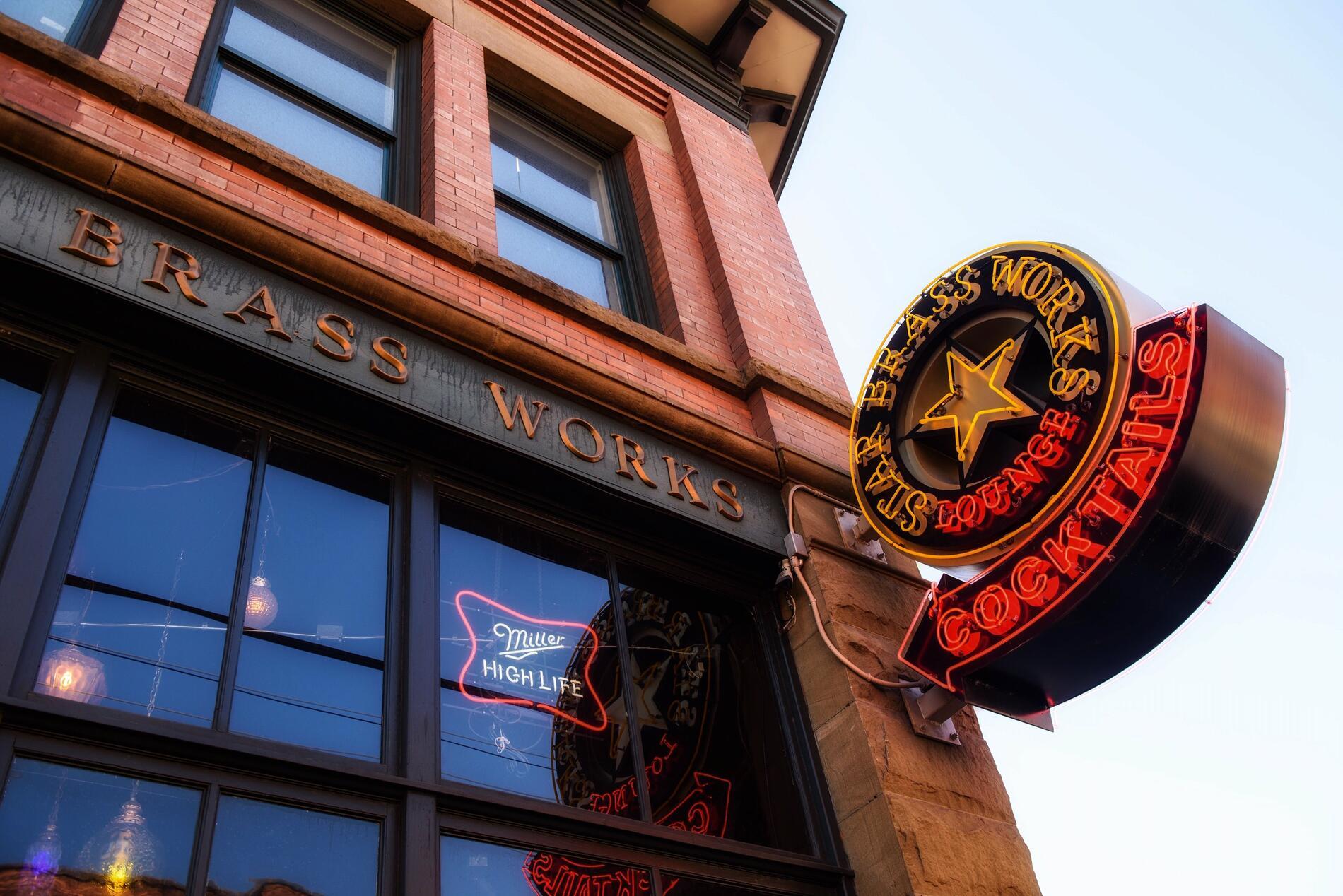 Brass Works restaurant