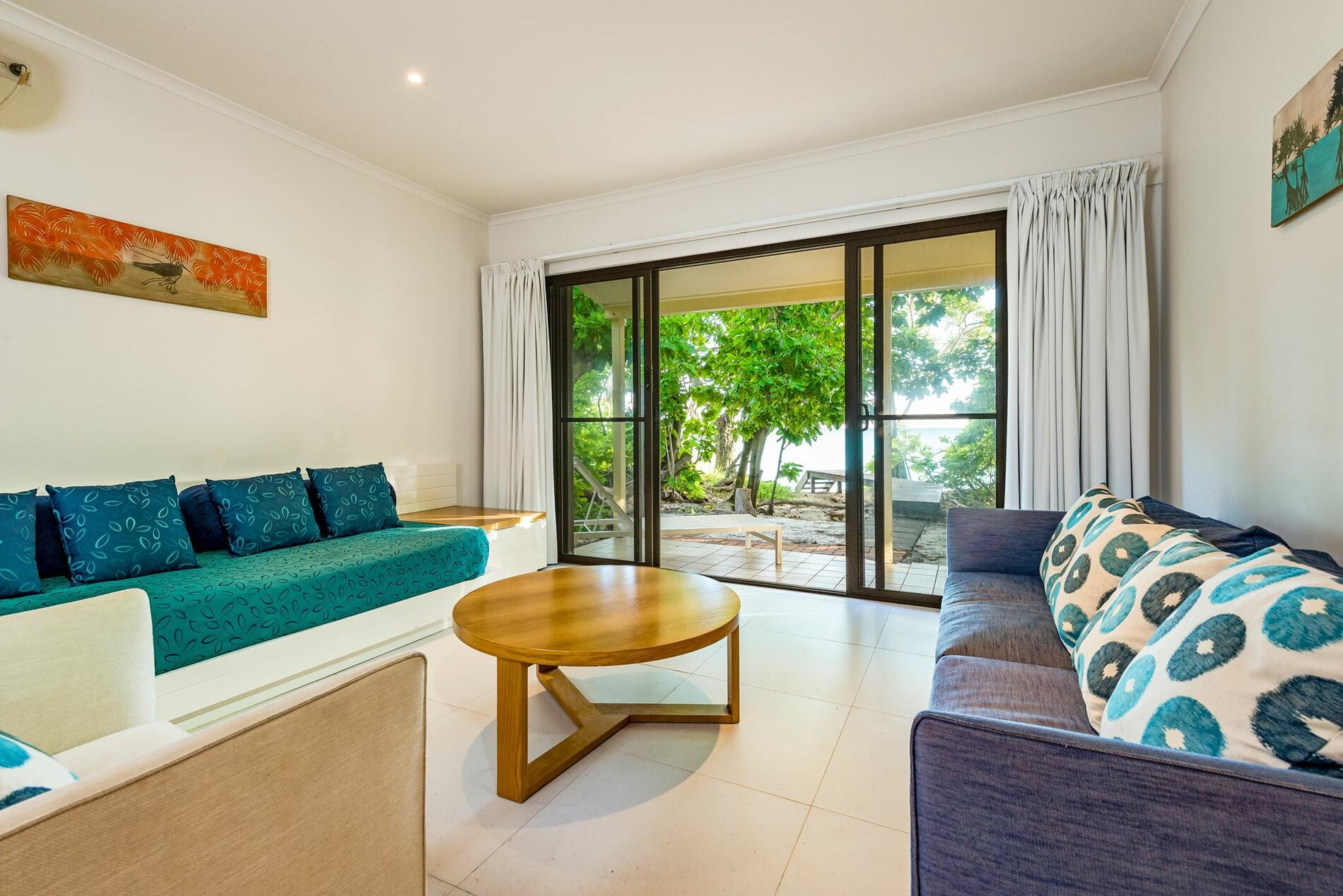 living room area at Beach House