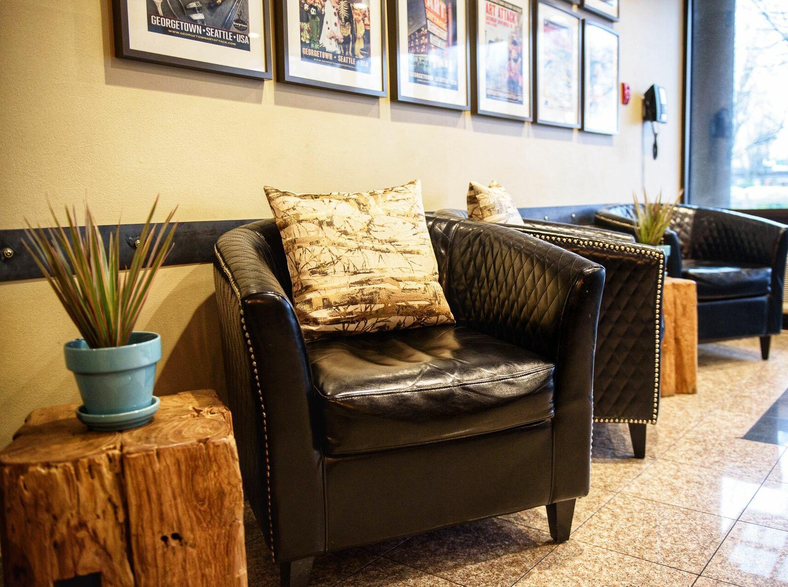 lobby chairs