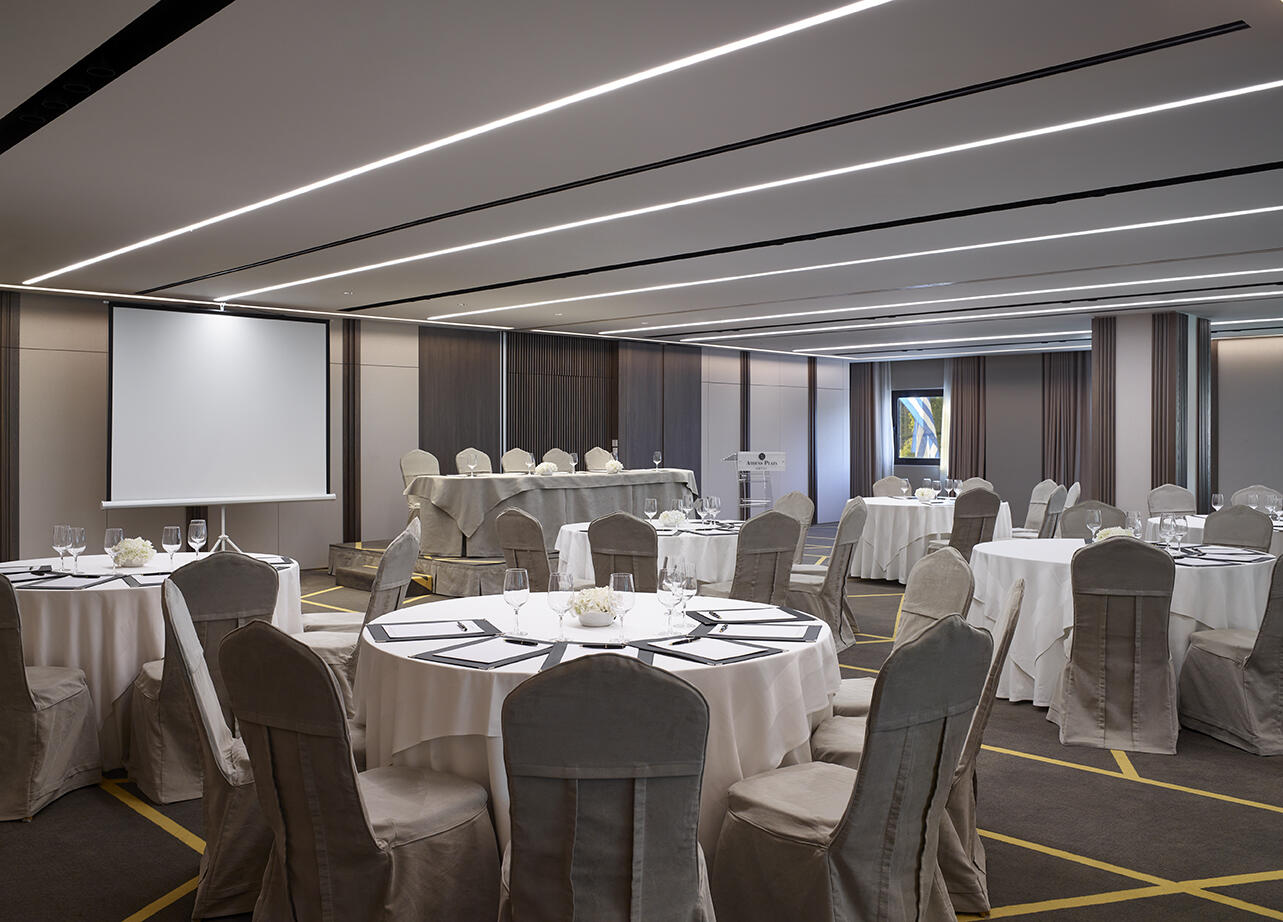event venue at NJV Athens Plaza hotel
