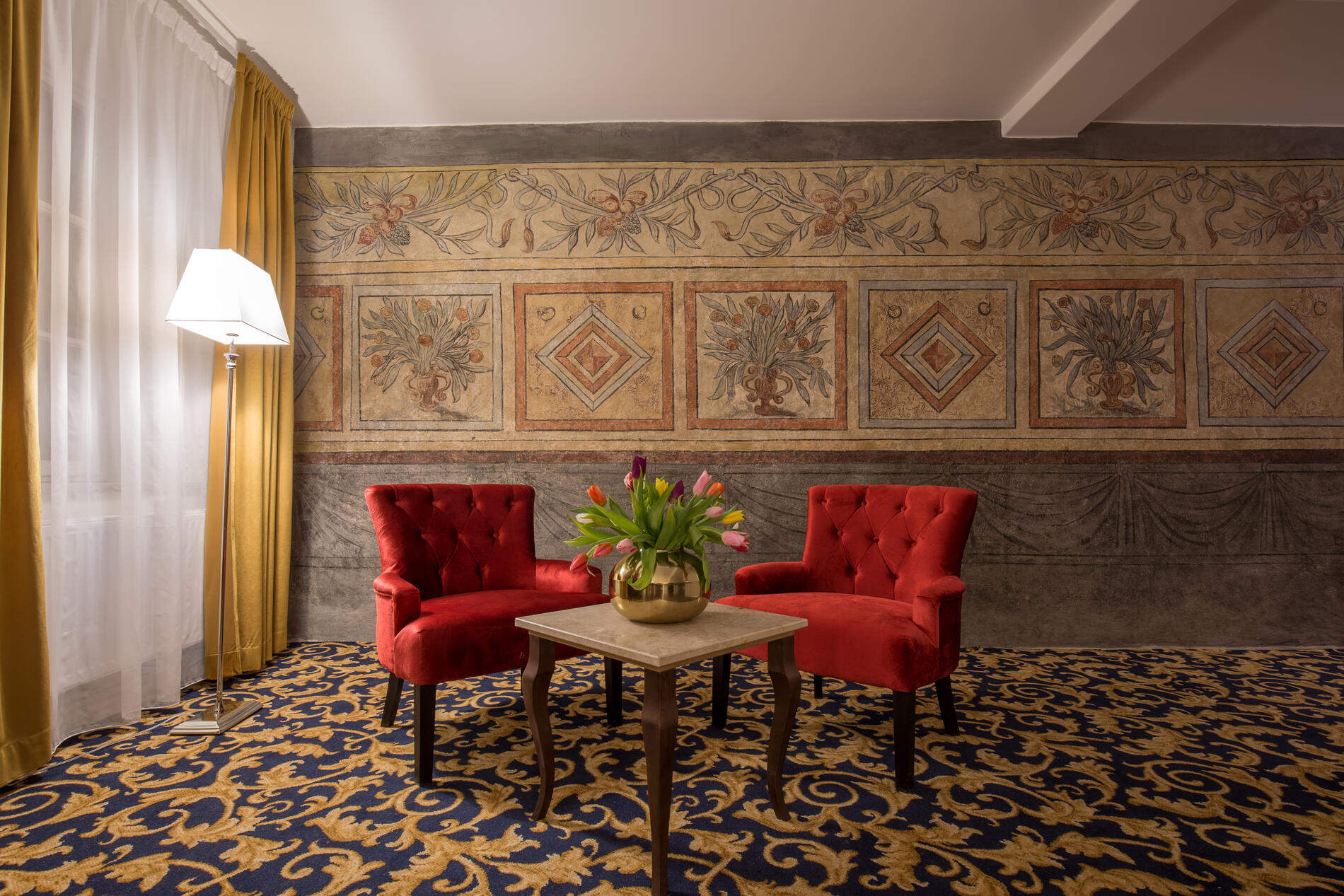 Room chairs at Hotel Gamla Stan in Stockholm