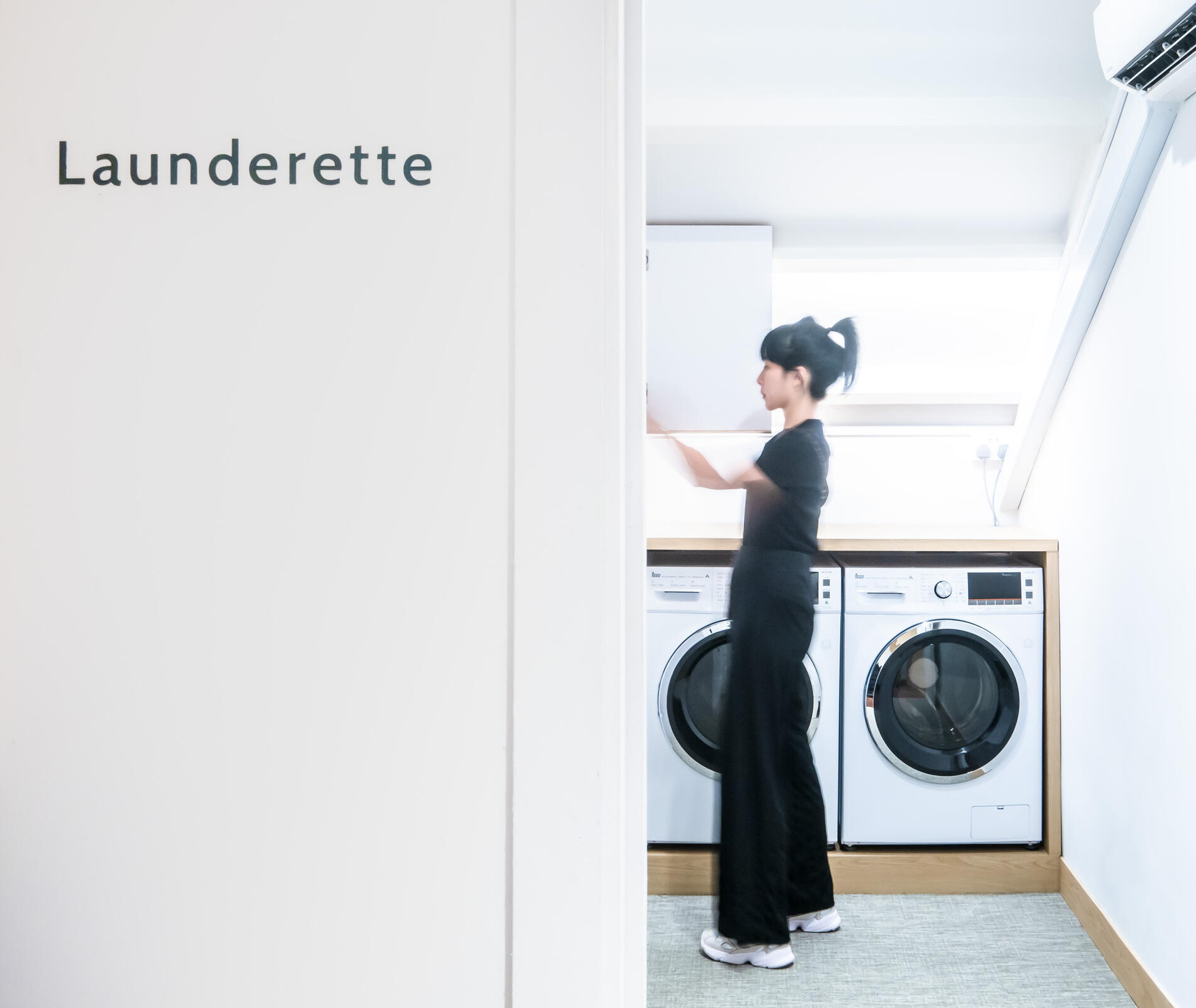 Launderette at KēSa House