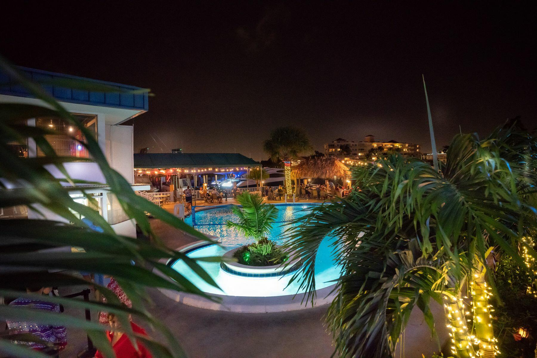 Sands Harbor - Pool - Night Shot