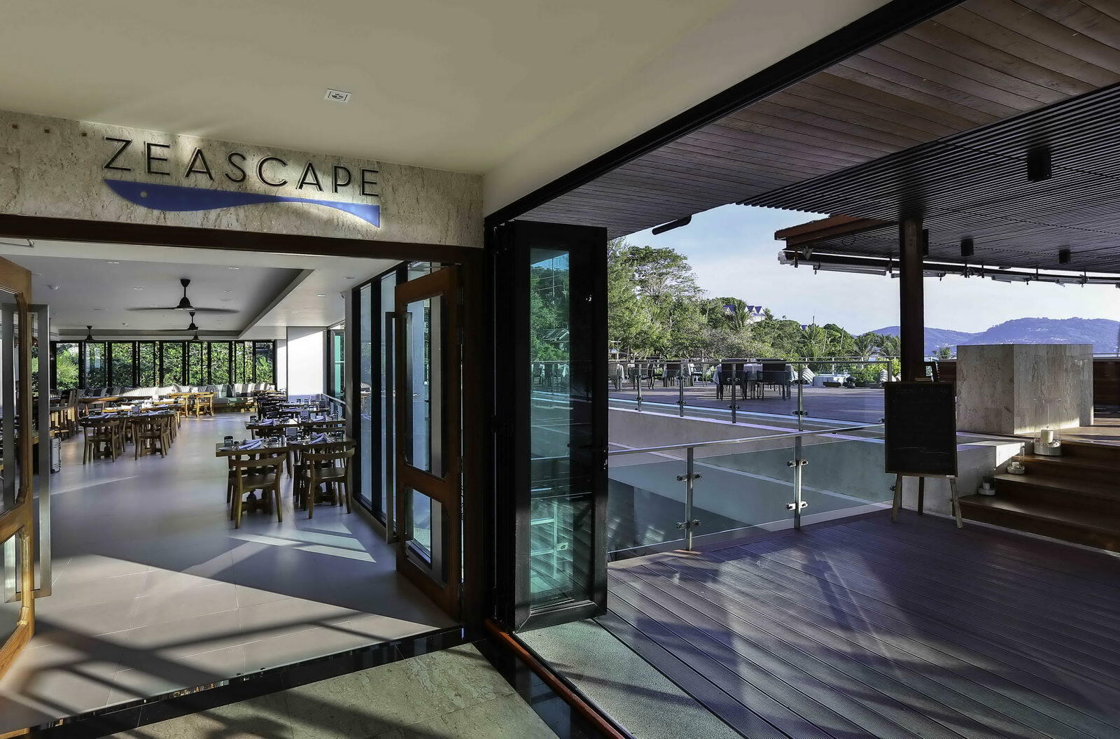 Zeascape Restaurant at U Zenmaya Phuket