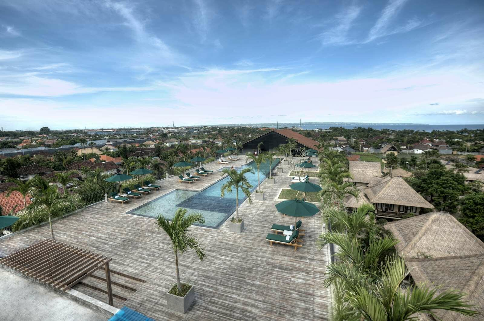 Outdoor Swimming Pool at U Paasha Seminyak Bali